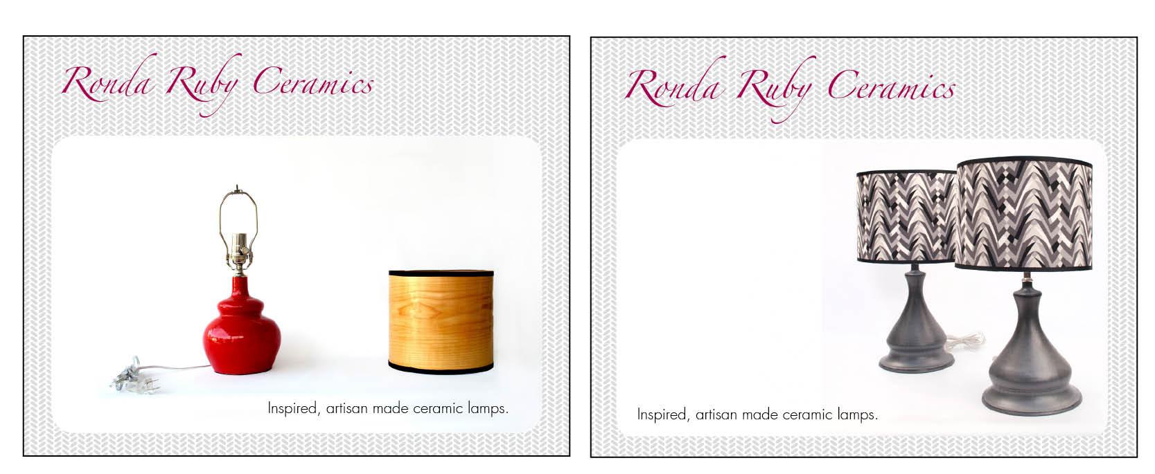 Personal Branding: Ronda Ruby Ceramics